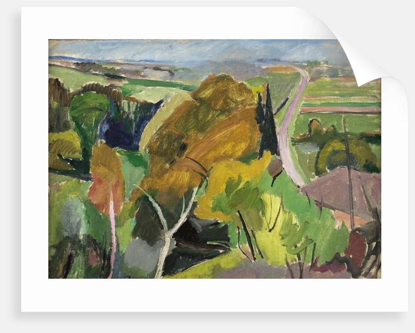 Autumn landscape, Lot et Garonne, c.1930 by Mildred Bendall