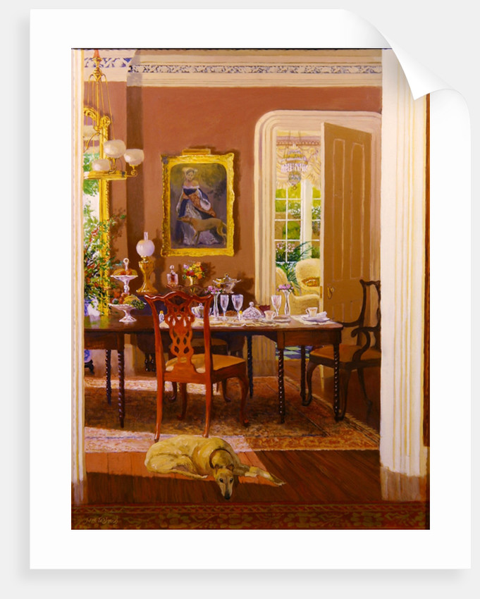 Dining Room by William Ireland