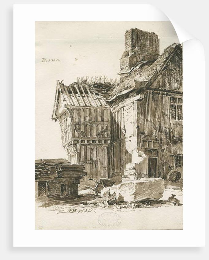 Eccleshall by Thomas Peploe Wood