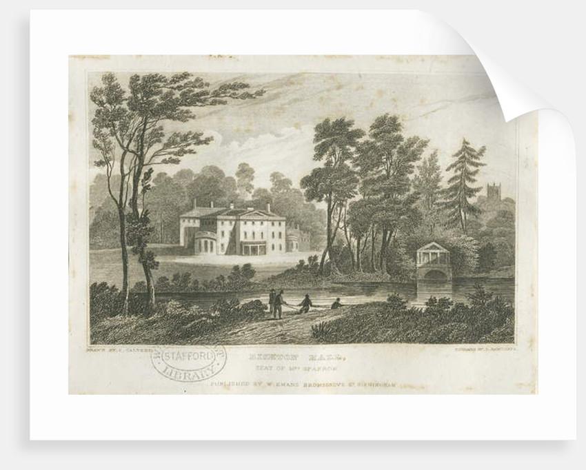 Bishton Hall by Frederick Calvert