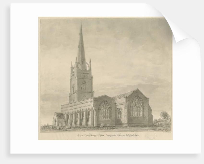 Clifton Campville Church by John Buckler