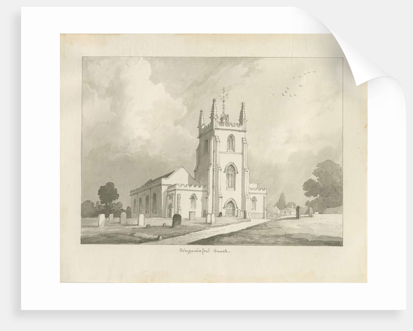 Kingswinford Church by Lewis John Wood