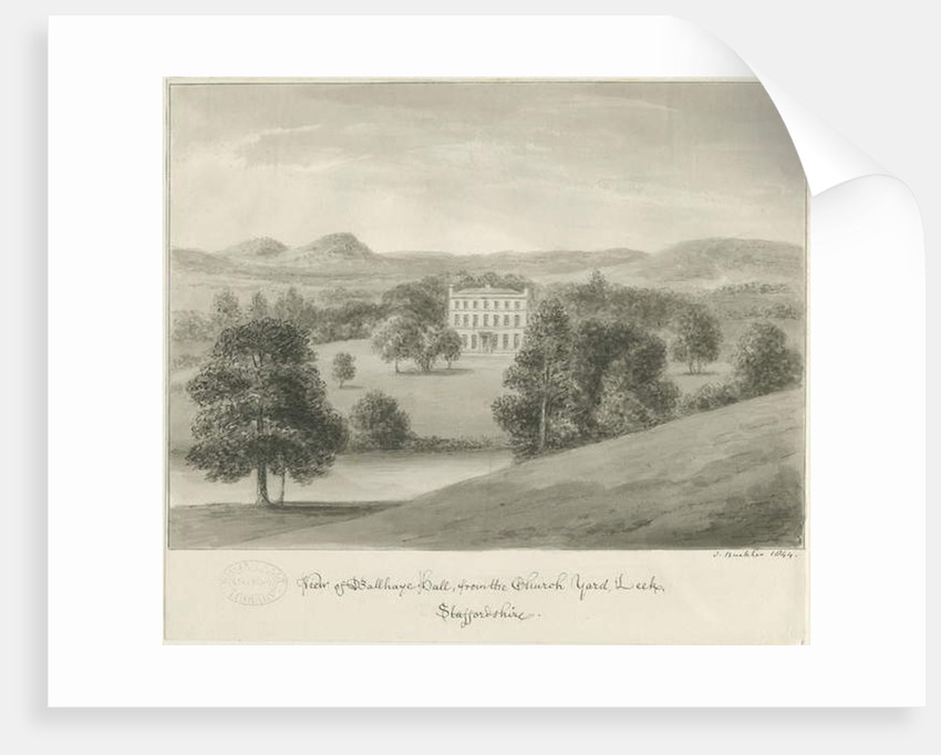 Leek - Ball Haye Hall by John Buckler