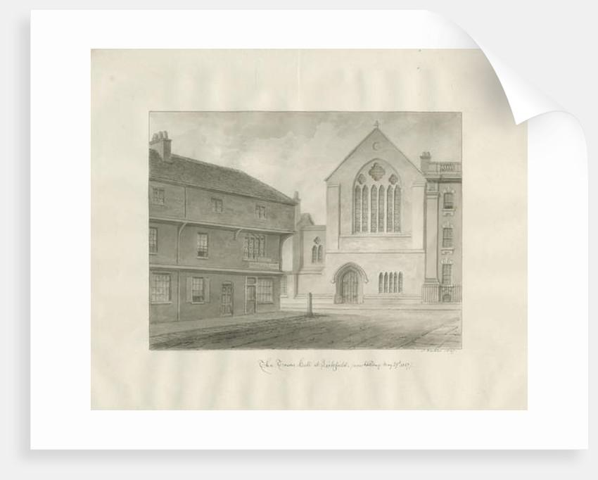 Lichfield - Guildhall by John Buckler