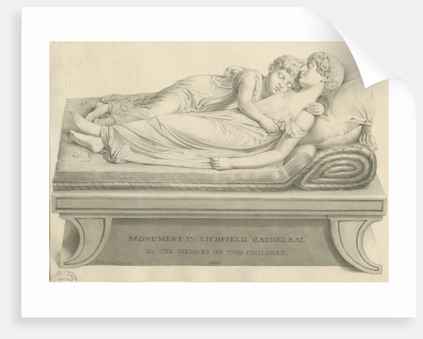 Lichfield Cathedral - 'The Sleeping Children' by John Buckler