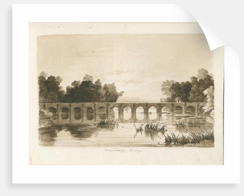 Shugborough Bridge by Thomas Peploe Wood