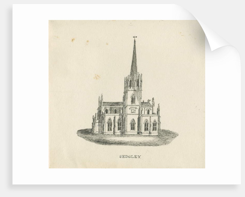 Sedgley Church by School English