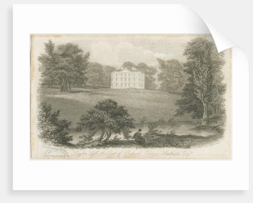 Longton Hall by Richard Edensor Heathcote