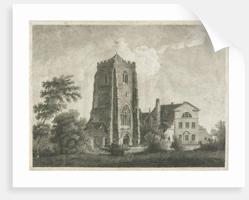 Ranton Abbey [Priory] by Stebbing Shaw
