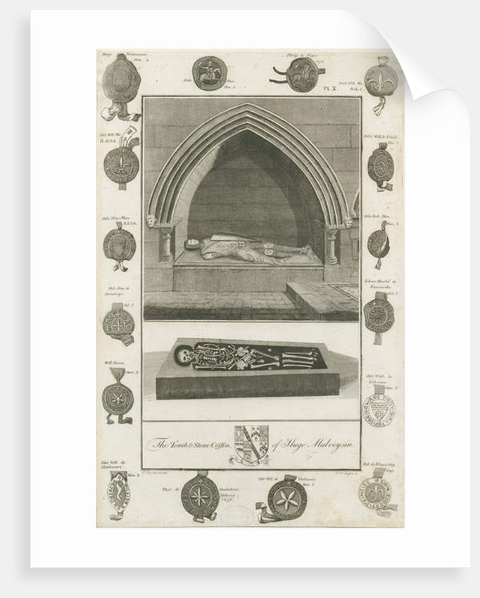 Mavesyn Ridware - Tomb of Hugo Mavesyn by School English
