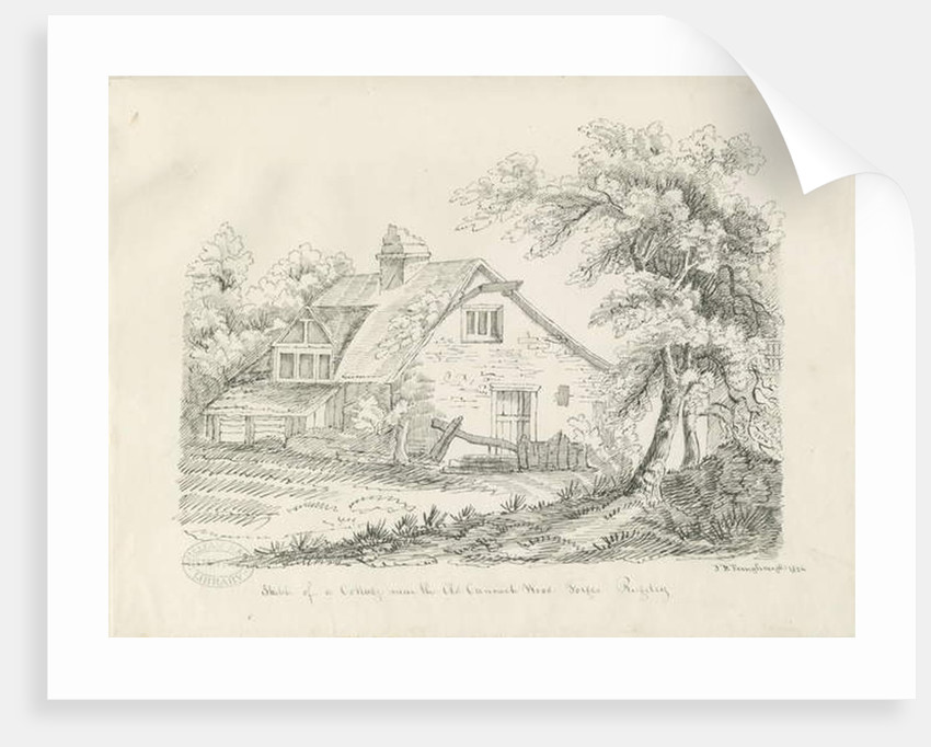Rugeley - Cottage near Old Cannock Wood Forges by John Robert Fernyhough