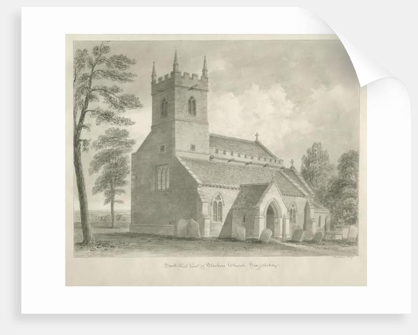 Standon Church by John Buckler