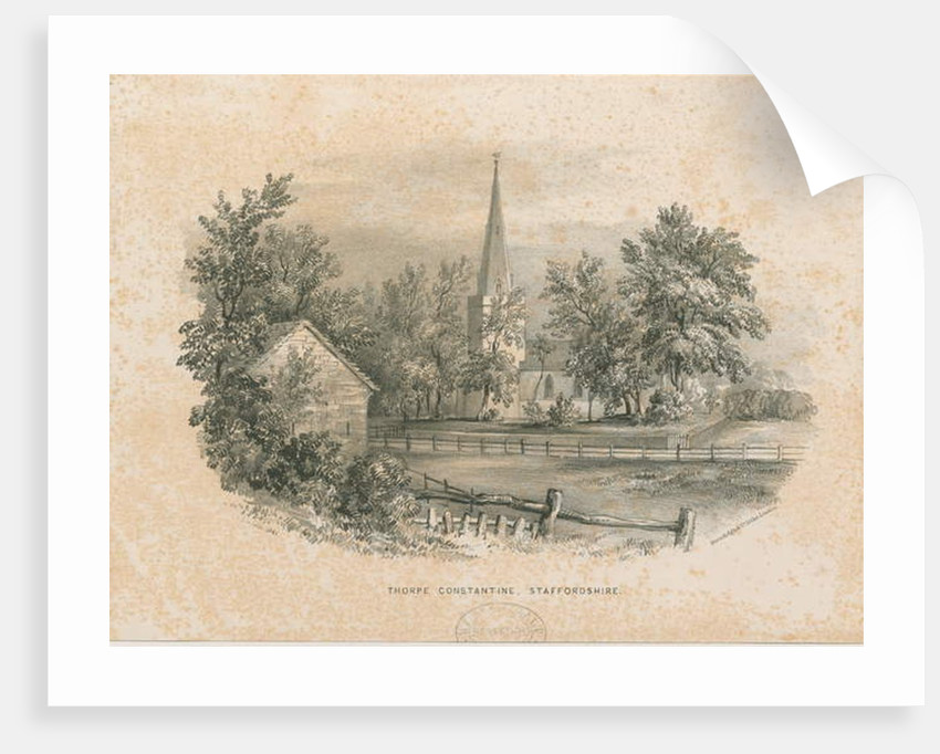Thorpe Constantine Church by School English