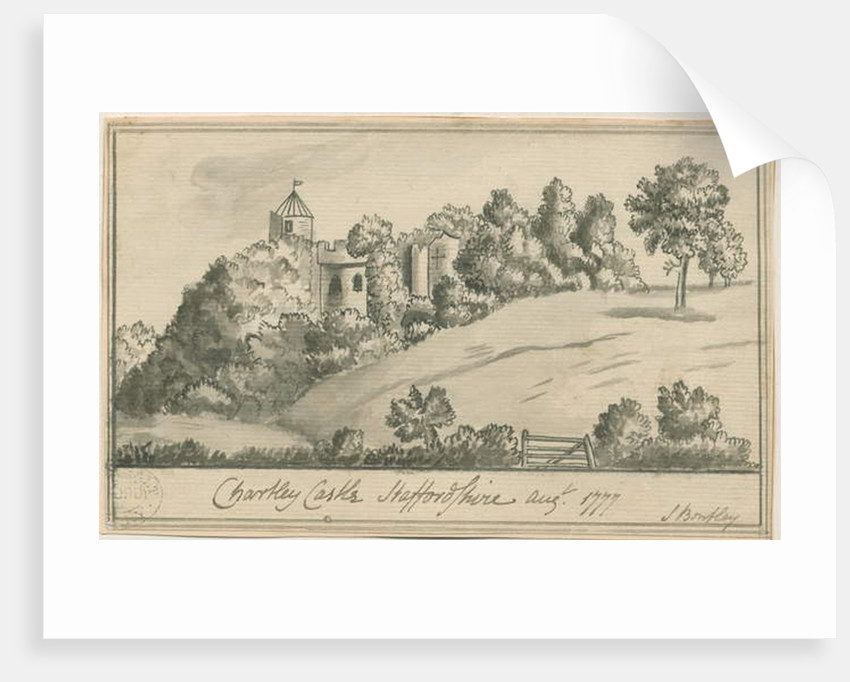 Chartley Castle by S Bentley