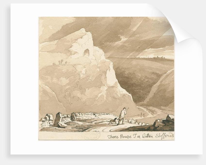 Wetton - 'Thor's House Tor' by Thomas Peploe Wood