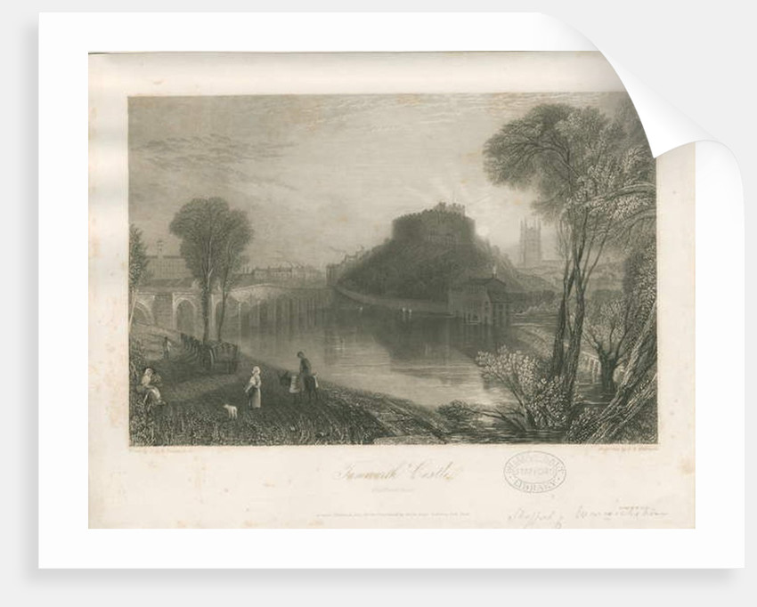 Tamworth Castle by James Tibbitts Willmore