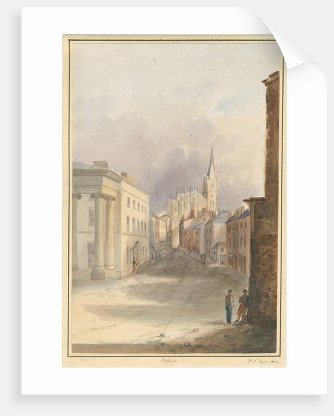 Walsall Town and Church by Henry James Noyes