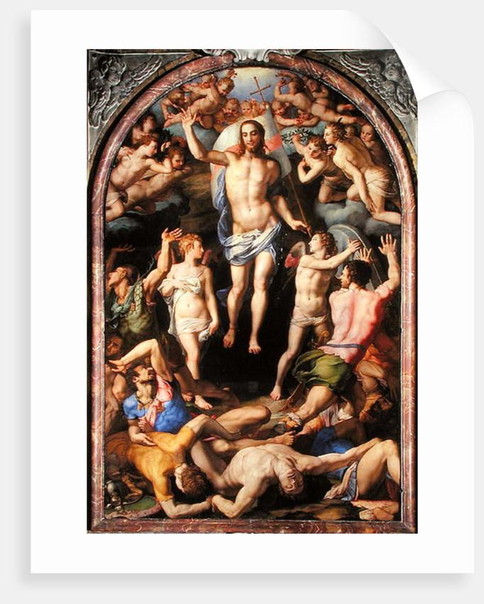 The Resurrection by Agnolo Bronzino