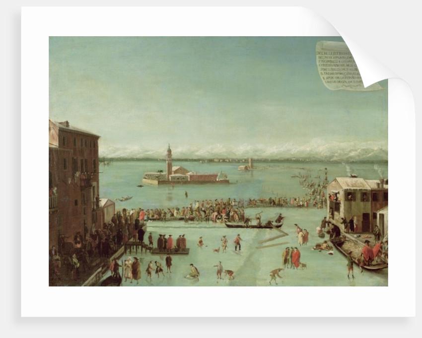 The Frozen Lagoon by Francesco Battaglioli