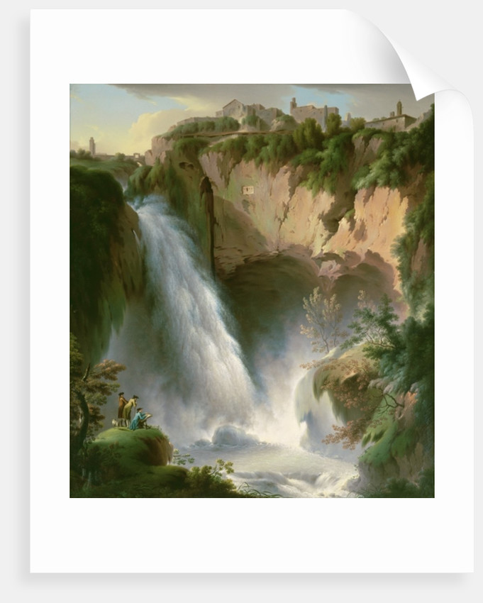 The Falls of Tivoli by Michael Wutky