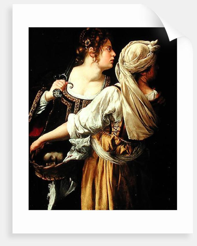 Judith and her Servant by Artemisia Gentileschi