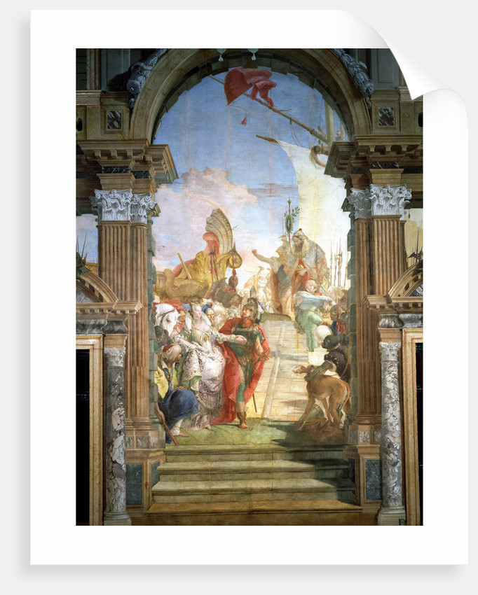 The Meeting of Anthony and Cleopatra by Giovanni Battista Tiepolo