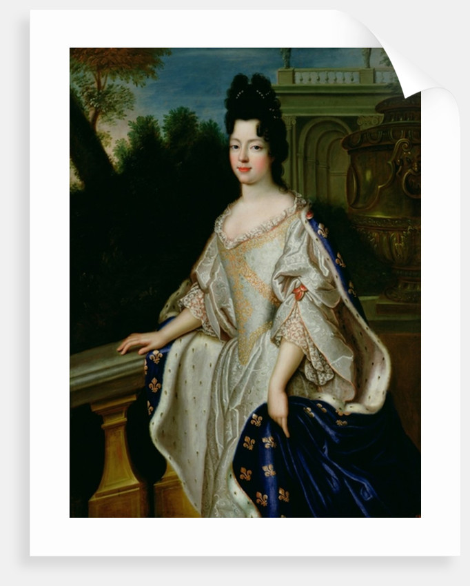 Marie-Adelaide de Savoie Duchess of Burgundy by French School