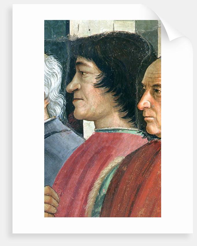 Lorenzo Medici by Domenico Ghirlandaio