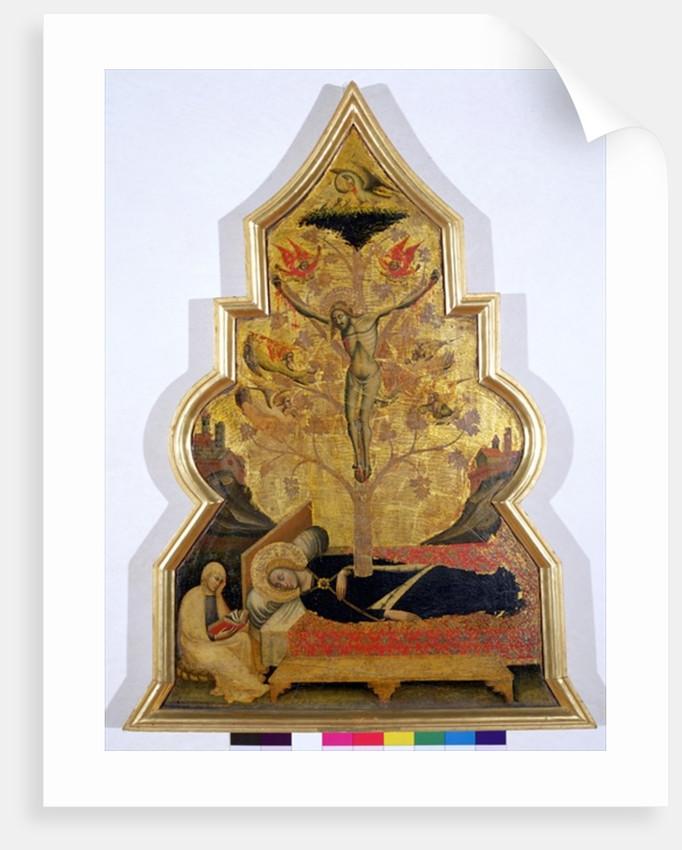 The Dream of the Virgin by Simone dei Crocifissi