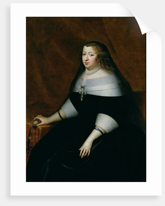 Portrait of Anne of Austria by Charles Beaubrun