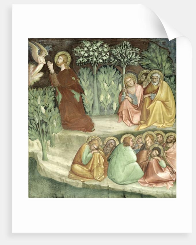 Christ in the Garden of Gethsemane posters & prints by Barna da Siena