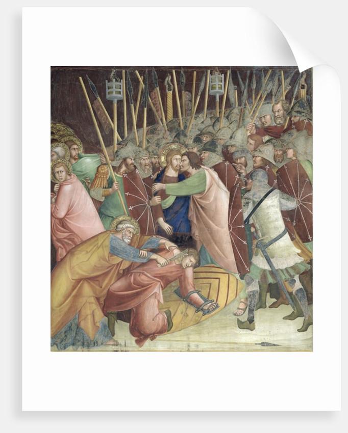 The Kiss of Judas by Barna da Siena