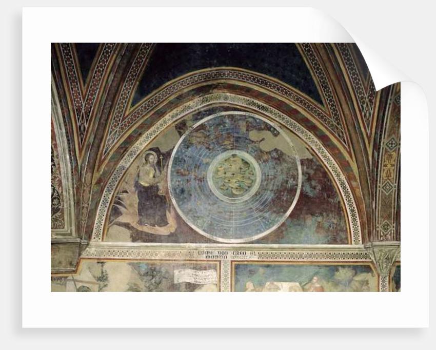 The Creation of the World by also Manfredi de Battilori Bartolo di Fredi