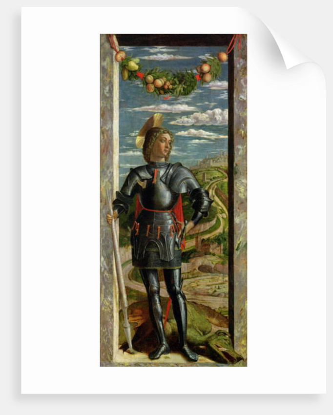 St. George and the Dragon by Andrea Mantegna
