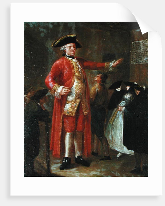 The Giant Magrat by Pietro Longhi