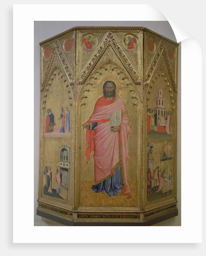 St Matthew and Scenes of his life by Andrea & Jacopo Orcagna di Cione