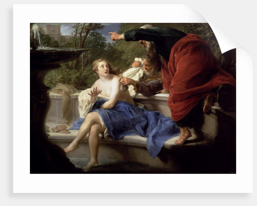 Susanna and the Elders by Pompeo Girolamo Batoni