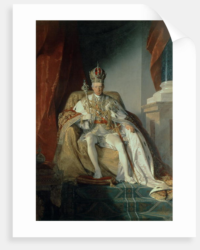 Emperor Francis II of Austria by Friedrich von Amerling