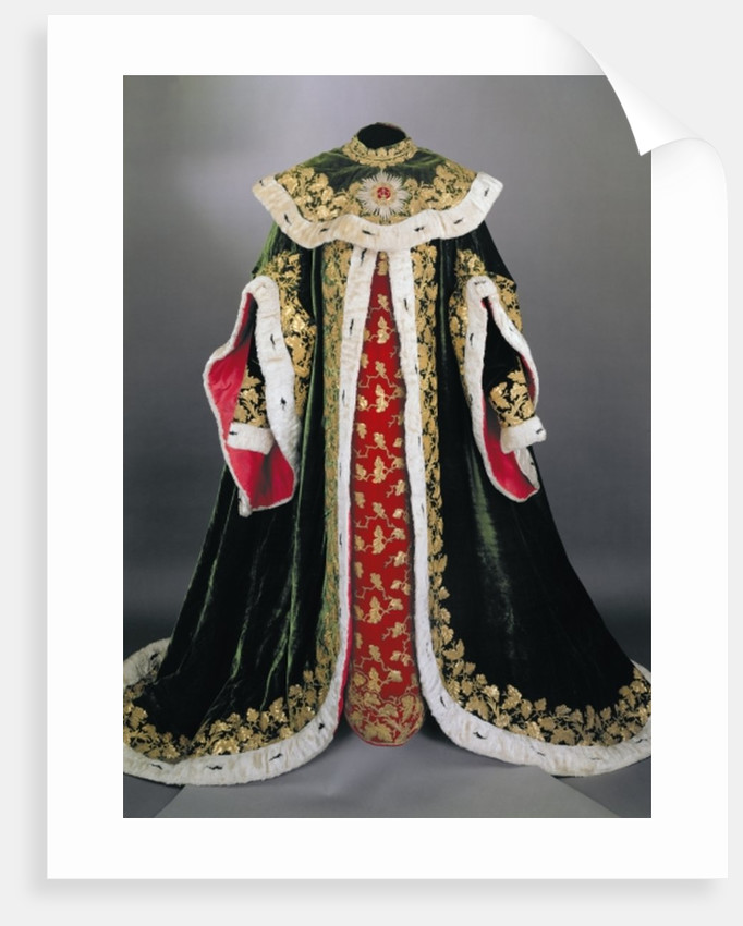 Official robes of the Hungarian Order of St. Stephen by Anonymous
