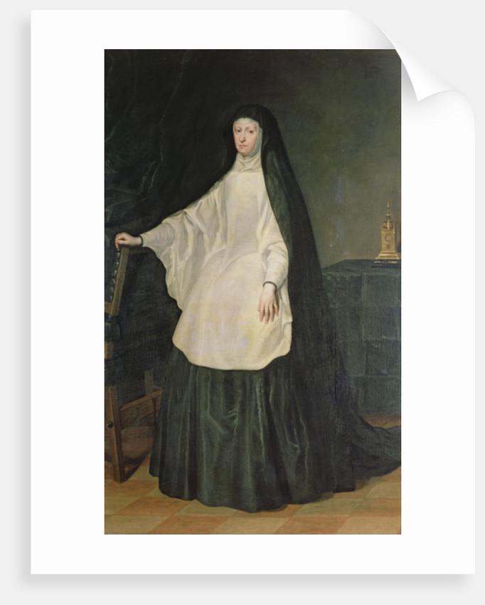Queen Mariana of Austria, in mourning by Don Juan Carreno de Miranda