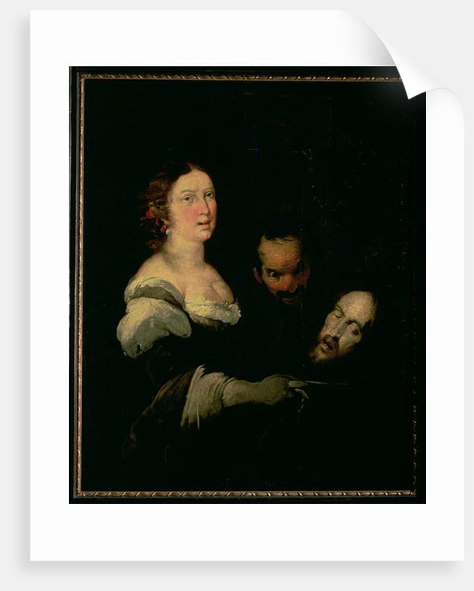 Salome with the head of St. John the Baptist by Bernardo Strozzi