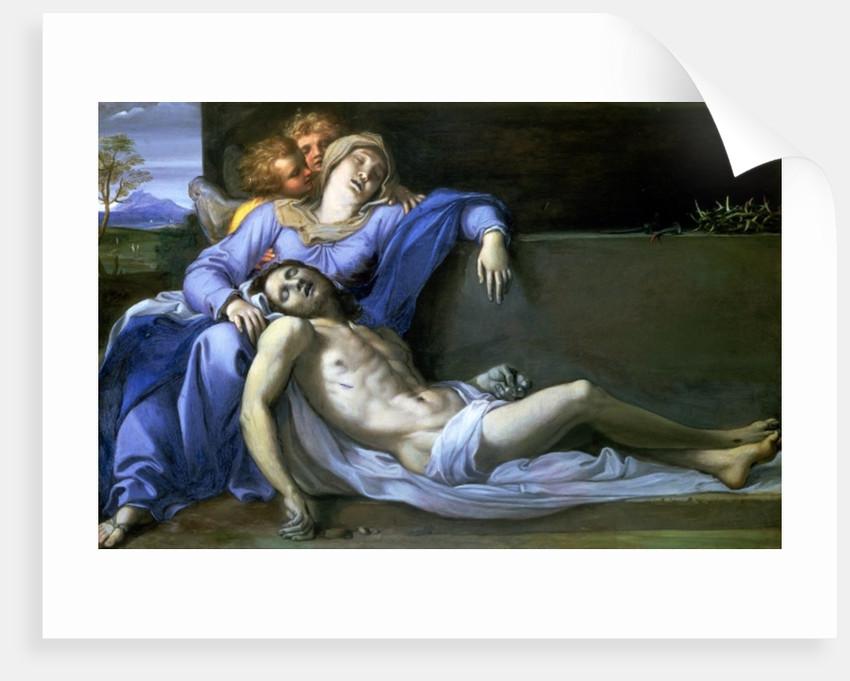 Pieta by Annibale Carracci