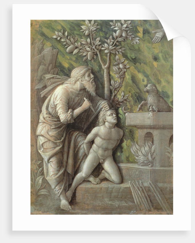 Abraham sacrificing Isaac by Andrea Mantegna