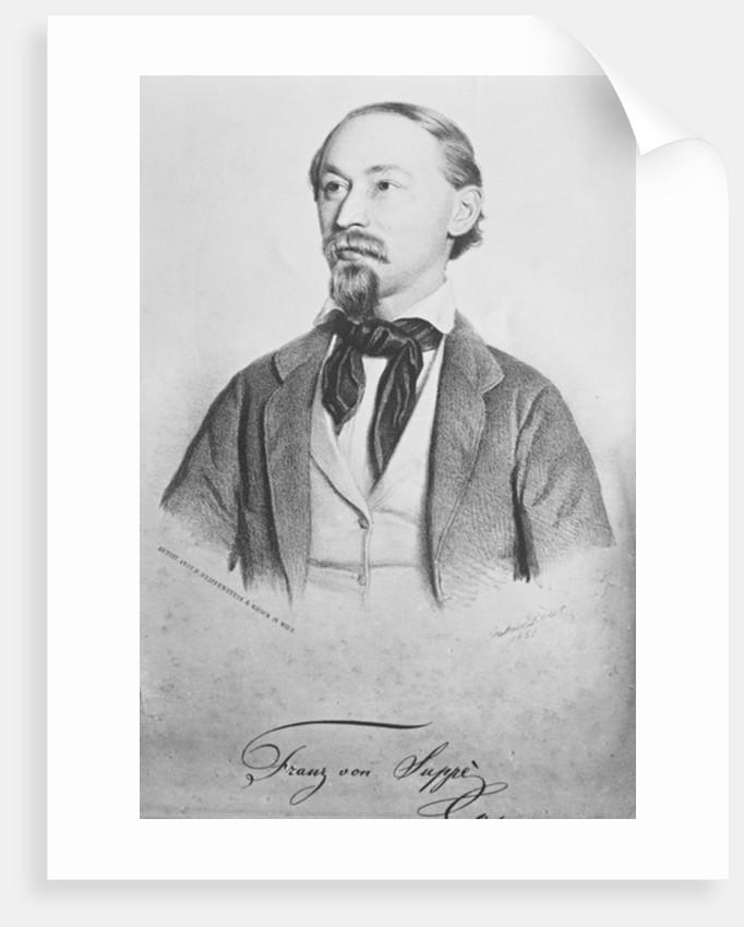 Franz von Suppe, Austrian composer by Gabriel Decker