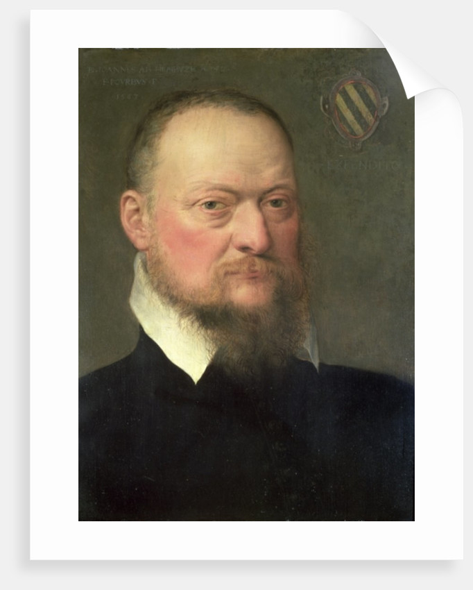 Jan van Hembyze, a follower of the Ghent Calvinists by Frans I Pourbus