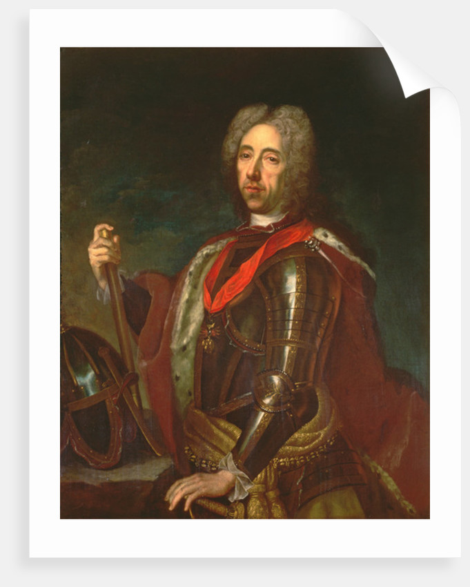 Prince Eugene of Savoy at the Siege of Belgrade by Austrian School