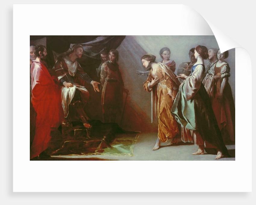 Esther and Ahasuerus by Bernardo Cavallino