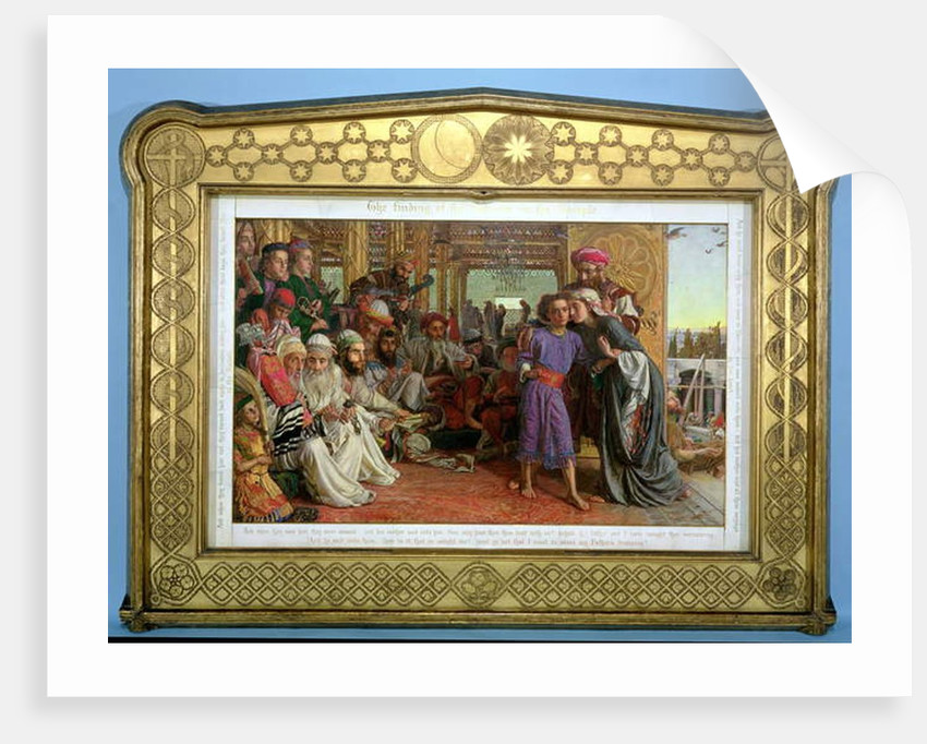 The Finding of the Saviour in the Temple, 1855 by William Holman Hunt