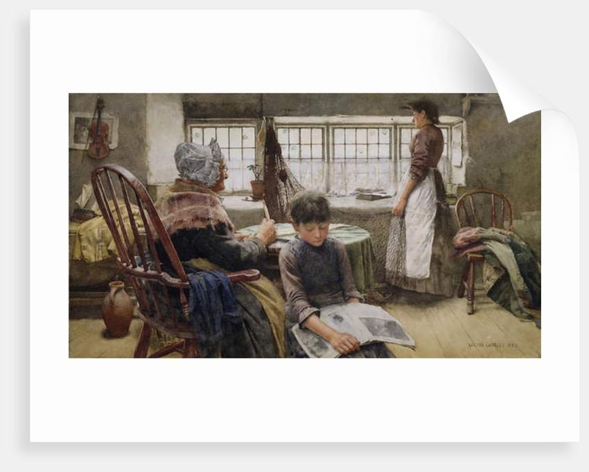 Memories, 1885 by Walter Langley