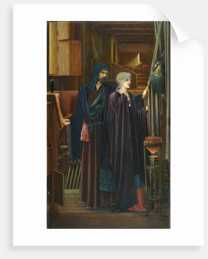 The Wizard, 1898 by Edward Coley Burne-Jones